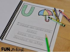 These alphabet poems are perfect for poetry journals.