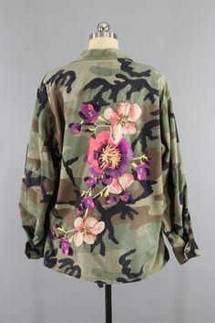 Bildergebnis für camouflage jacket bestickt