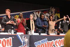 """Danai Gurira - """"The Walking Dead"""" NY Comic Con Panel"""