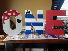 Our friends Katherine and Candice made these for their son, Lukas' first birthday party with a pirate theme. Aren't they awesome?