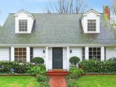 """Bright and cheerful 2-story """"New England"""" Traditional on Brentwood Glen cul-de-sac. This picturesque home has a remodeled kitchen with Viking stove, granite counter tops and subway tiles. The living room has beautiful bay windows looking out to the tree lined street, brick fireplace and windows / French doors leading out to a covered patio with skylights and large, lush yard. The formal dining room also looks out to the covered patio and yard. 3BR,2BA. 310-874-5639"""