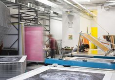 Two Palms screenprint studio #studioenvy