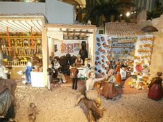 Nativity Scene - Belenes y Figuras - Nativity Set Belenes Laravid
