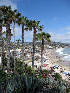 Pretty beach. Just too many people...yuck. Looking for something less overrun. :) Laguna Beach, California