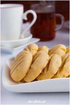 Proste ciasteczka maślane - I Love Bake Biscotti, Live, Cooking, Kitchen, Cookie Recipes, Brewing, Cuisine, Cook