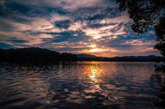 West Lake in sunset - Hangzhou, China