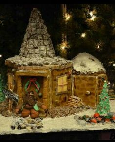 harry potter gingerbread house - Google Search