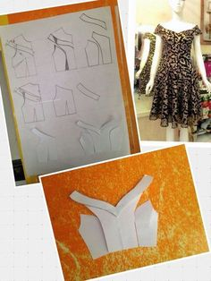 Dress pattern sewing design 64 Ideas for 2019 Sewing Hacks, Sewing Tutorials, Sewing Crafts, Sewing Projects, Dress Tutorials, Techniques Couture, Sewing Techniques, Pattern Cutting, Pattern Making