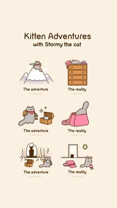 Imagem de art, pusheen cat, and cartoon