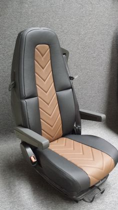 Car Seat Upholstery, Truck Interior, Diy Wood Projects, Seat Covers, Volvo, Car Seats, Plush, Company Logo, Stripes