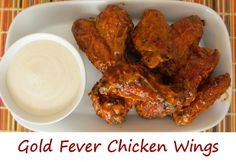 Gold Fever Chicken Wings