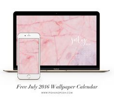 Free July 2016 Wallpaper Calendar