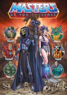 He-Man and the Masters of the universe Best 90s Cartoons, Old Cartoons, Classic Cartoons, Cartoon Shows, Cartoon Art, Cult, Sword And Sorcery, Batman Vs Superman, Universe Art
