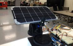 Dual Axis Solar Tracker by OpenSourceClassroom - Thingiverse Solar Energy Panels, Best Solar Panels, Solar Tracker, Planetary System, Solar Solutions, 3d Cnc, Nuclear Energy, Solar House, Solar Panel Installation