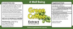 Bean Extract that EACH AND EVERY test subject lost an average of 17 pounds over a 12 week period? And all without changing their diet or exercise. A Well Being offers the highest potency green coffee extract available, with 50% Chlorogenic Acid, which mee.