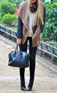 Casual Winter outfit - LOVE this look!