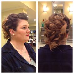 Formal up do by Kelly and makeup by Ryann at Style Masters of Malvern