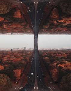 Laurent Rosset turns his dreams into surreal images of our world rising up and onto itself like a swelling wave.