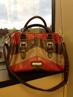 Chevron Stripes - Steve Madden purse ~