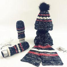 6ec194d3639 3pcs Winter Warm Crochet Women s Hat Caps Knitted Wool Hat Scarf For ladies  Cotton Beanies Glove
