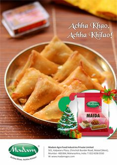 SWEET SAMOSA RECIPE #Ingredients for Sweet Samosa Recipe Semolina 1/2 cup Scraped Coconut 2 tablespoons Scraped coconut 1 cup Cashewnuts blanched and chopped 2 tablespoons Almonds blanched and chopped 2 tablespoons Condensed milk 200 millilitres Fresh cream 100 millilitres Butter 1 1/4 cup Salt a pinch Sugar 8 tablespoons Green cardamom powder 1 teaspoon Samosa patti 20 #Method #Step 1 Heat oil in a non-stick pan. Add semolina and saute for two minutes. Step 2 Add green cardamo
