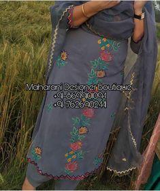 Buy Salwar Kameez Casual on Maharani Designer Boutique. Shop from a huge range of casual salwar kameez for women to make a chic statement Punjabi Salwar Suits, Patiala Salwar, Salwar Suits Simple, Shalwar Kameez, Punjabi Suit Boutique, Punjabi Suits Designer Boutique, Pakistani Designer Suits, Boutique Suits, Boutique Shop