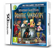 Mystery Case Files: Prime Suspects (Nintendo DS/3DS): Amazon.co.uk: PC & Video Games