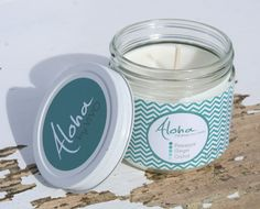 Aloha Soy Candle for your Eco Chic Spa or home by ViVOSpaBoutique, $20.00