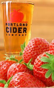 """Portland Cider Co """"Strawperry"""" Cider"""