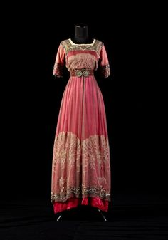 Dress, 1910's From the collection of Alexandre Vassiliev