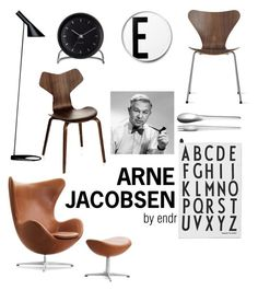 """ARNE JACOBSEN"" by endrit on Polyvore featuring interior, interiors, interior design, home, home decor, interior decorating, Design Letters, Georg Jensen, Fritz Hansen and Louis Poulsen Fritz Hansen, Arne Jacobsen, Interior Decorating, Interior Design, Lettering Design, Collages, Polyvore, Home Decor, Inspiration"