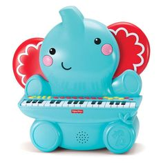 Kids Station Fisher Price Elephant Piano - KFP2138