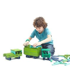 200-Piece Cool Color Building Set