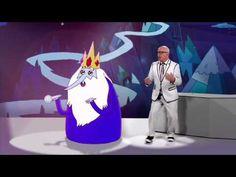 Cartoon Network | Papo Animado com Marcelo Tas | Rei Gelado | 2014