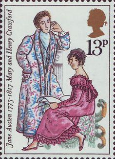 Reino Unida 1975 - Jane Austen fue una destacada novelista británica