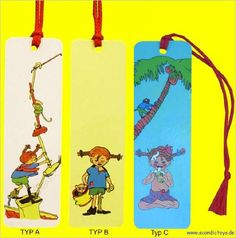 Pippi Lesezeichen