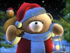Forever Friends Santa Bear Chimney Christmas snow presents gifts Christmas Music, Christmas Images, A Christmas Story, Winter Christmas, Merry Christmas Friends, Christmas Greetings, Holiday Pictures, Beautiful Christmas, Penguin Dance