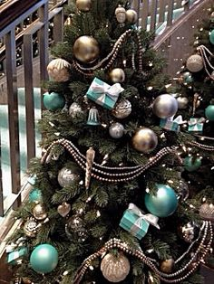 451709d3a 69 Best Tiffany Blue Christmas images in 2013 | Blue Christmas, Blue ...