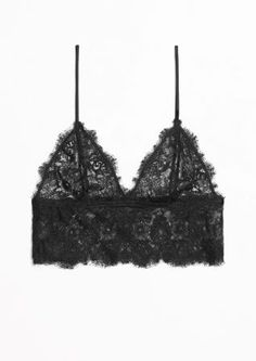 & Other Stories | Soft Lace Bra  XS