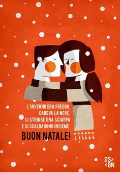 TOGETHER [illustration] by Daniele Simonelli, via Behance