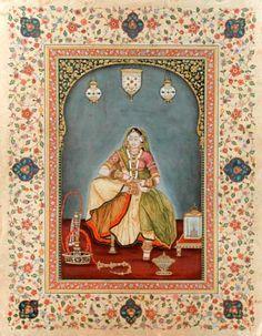 Ramesh Sharma Artist-Ethnic Indian Miniature Paintings,Contemporary,Traditional Paintings,Mughal,Fine Art Gallery,Prints,Jaipur,Rajasthan,India