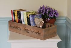 Personalised Vintage Style Wooden Gift Crate