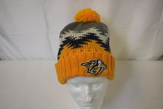 Winter is coming.stay warm while showing off your NHL team pride with our winter hat selections! Nhl Apparel, Hockey Gear, Winter Is Coming, Stay Warm, Gears, Skate, Pride, Winter Hats, Beanie