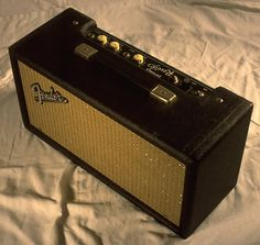 Fender 1964 Reverb Unit, Model 6G15, Black Face 40 Watts