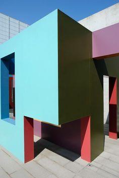 Krijn de Koning at Turner Contemporary. #wallpaper #phone Interior Architecture, Colour Architecture