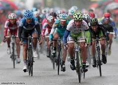 Including the prologue, Peter Sagan (Liquigas-Cannondale) wins for the third time in this Tour de Suisse, a stage.