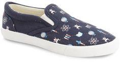 BucketFeet 'Science' Slip-On Sneaker (Walker, Toddler, Little Kid & Big Kid)