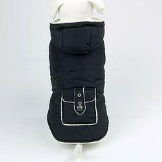 Mooie modieuze Pocket Style warme jas met capuchon voor Huisdieren Honden (verschillende maten) – EUR € 17.75