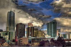 Denver Skyline HDR by TylerPPorter, via Flickr