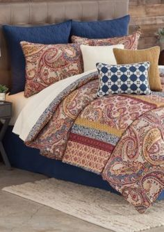 Home Accents  Casual Living Miriam Twin/Twin Xl Reversible Comforter Set  68-In. X 90-In. -  - No Size